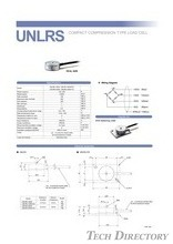 "COMPACT COMPRESSION TYPE LOAD CELL ""UNLRS"""