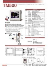 "TORQUE MONITOR FOR UTMⅡ/UTMV ""TM500"""