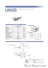 "COMPRESSION TYPE LOAD CELL ""UNGS"""