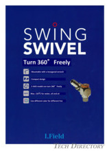 "Turn 360° Freely ""SWING SWIVEL"""