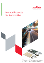 Murata Products for Automotive