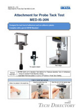 "Jig Uji Probe Tack ""MED-IS-20N"""