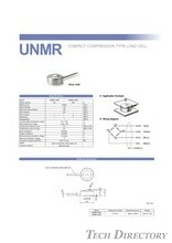"COMPACT COMPRESSION TYPE LOAD CELL ""UNMR"""