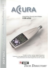 "Integrating Sound Level Meter ""TYPE 6230 ACCURA"""