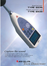 "Sound Level Meter ""TYPE 6236/6238"""