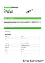 "Pistonphone ""TYPE 2124A"""