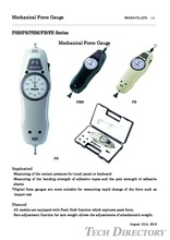 Force Gauge Mekanik Tipe Ekonomis ( Push Full Gauge )  Seri FB