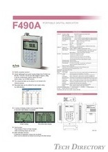 "PORTABLE DIGITAL INDICATOR ""F490A"""